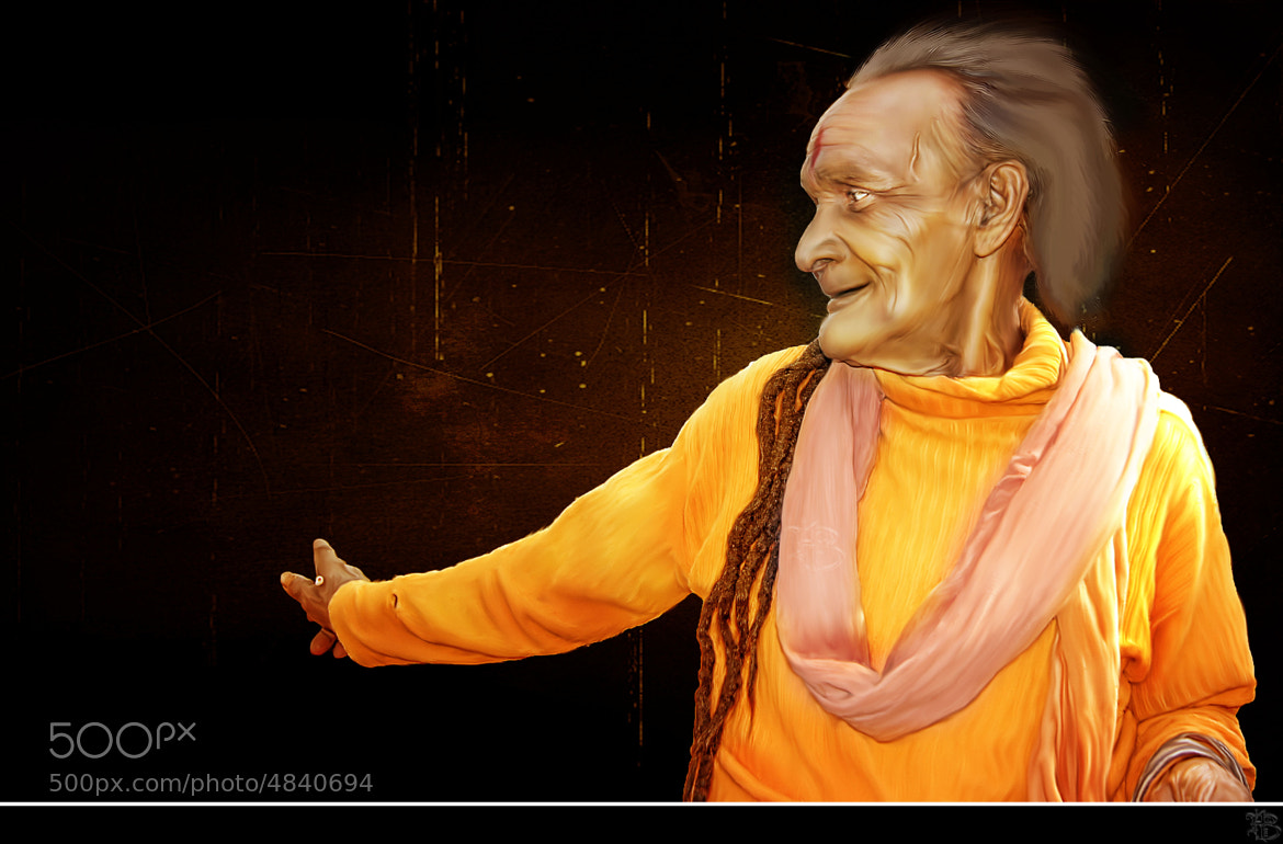 Photograph Old Monk by Himanshu Bali on 500px