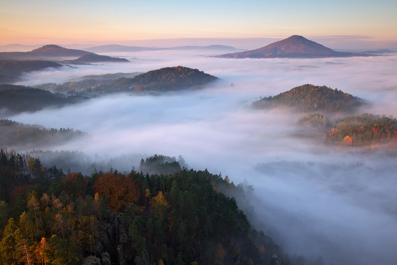 Photograph Above the Mist by Martin Rak on 500px