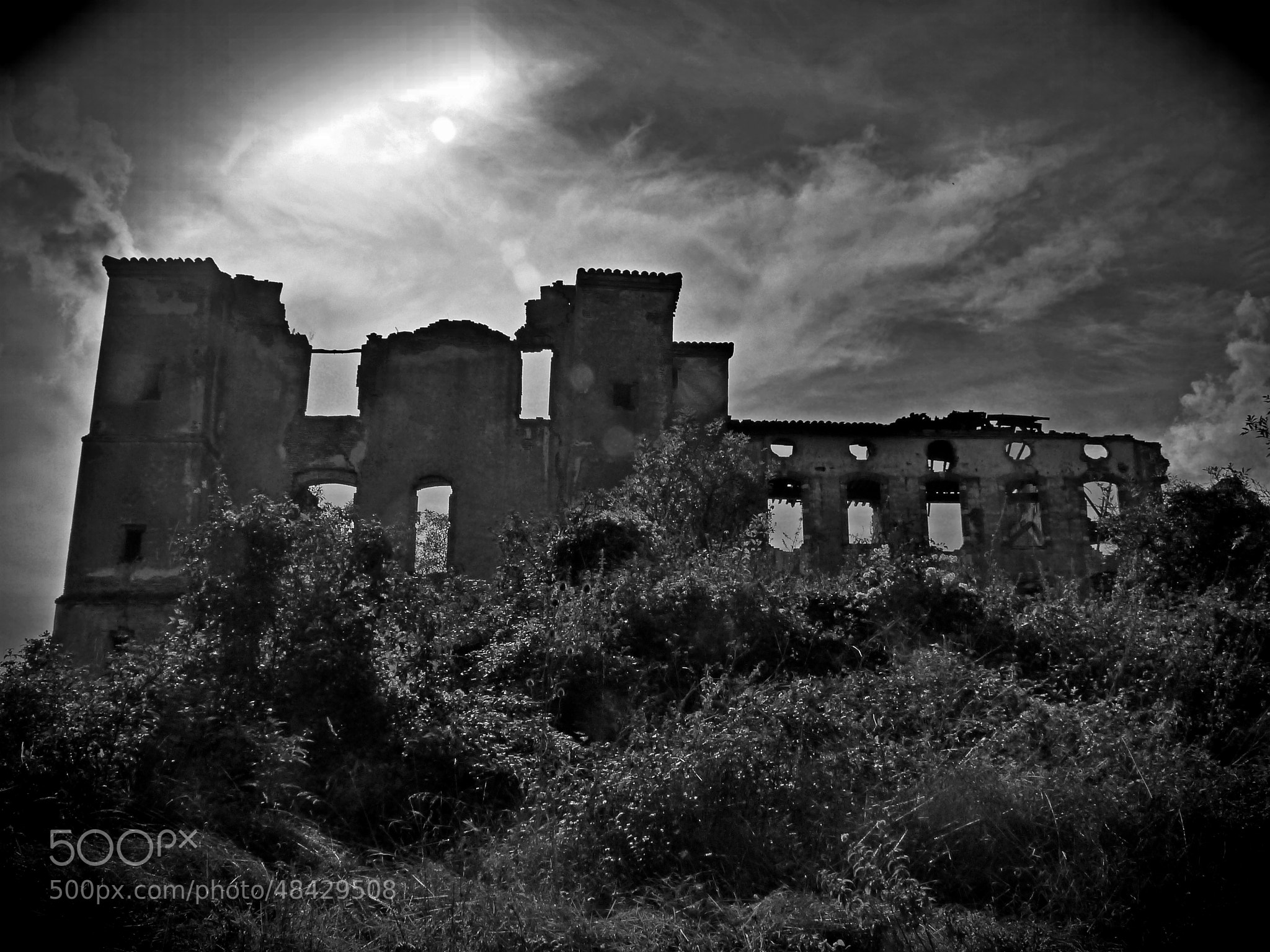 Photograph Haunted castle by Florence Guichard on 500px