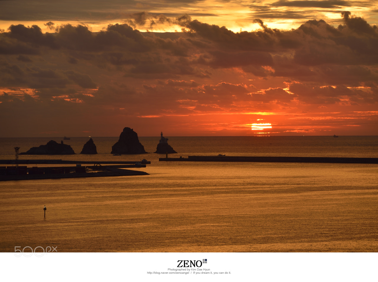Photograph Pusan Oryukdo Sunrise by Kim DaeHyun on 500px