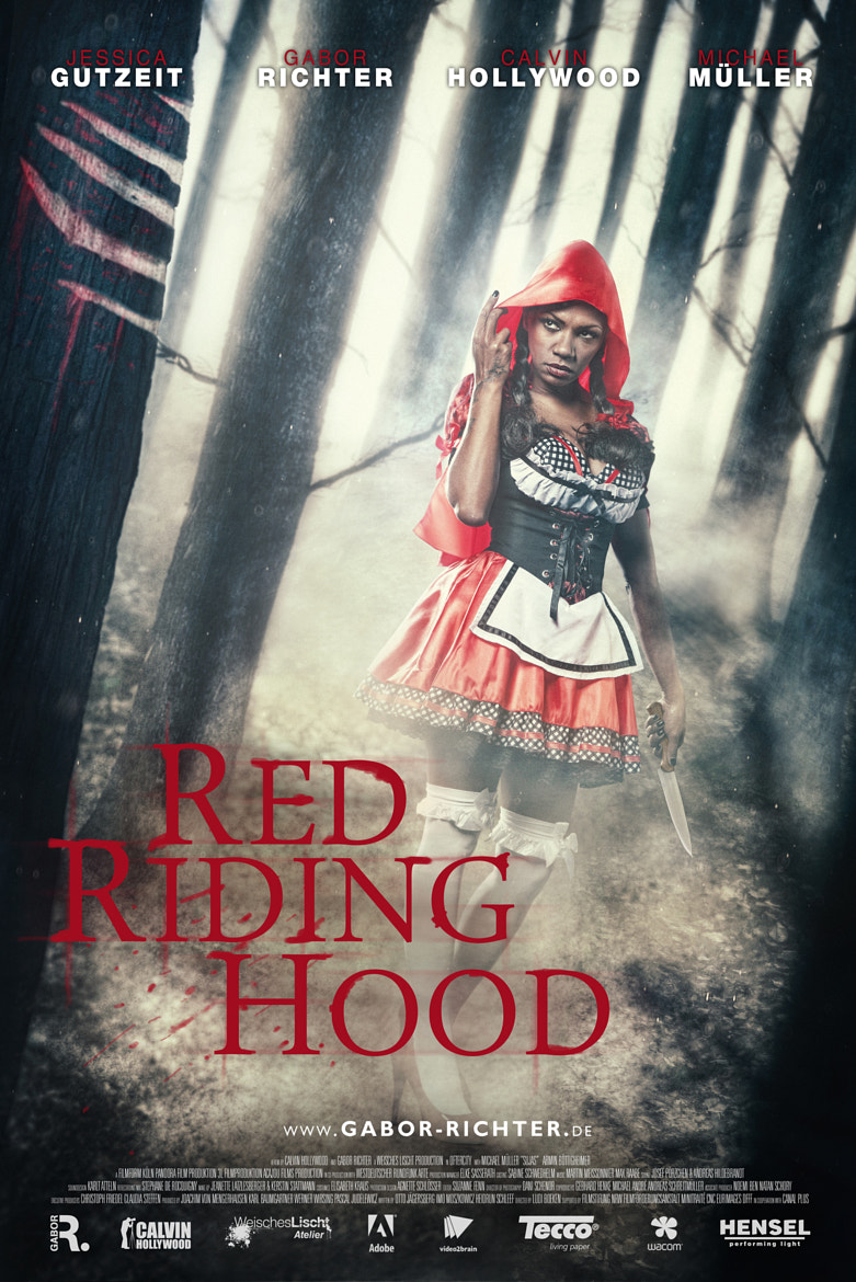 Photograph RED RIDING HOOD by Gabor Richter on 500px