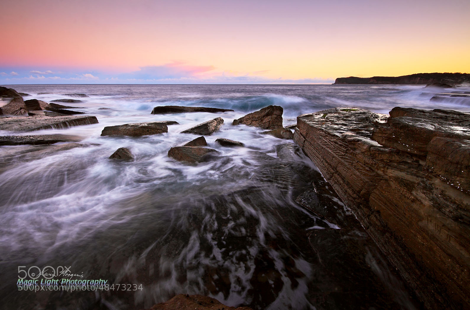Photograph Skillion Rocks Sunset #3 by Kevin Morgan on 500px