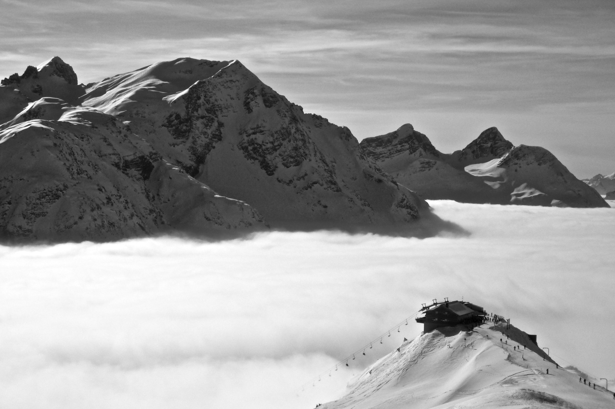 Photograph Arlberg 8 B&W by Benjamin Wild on 500px