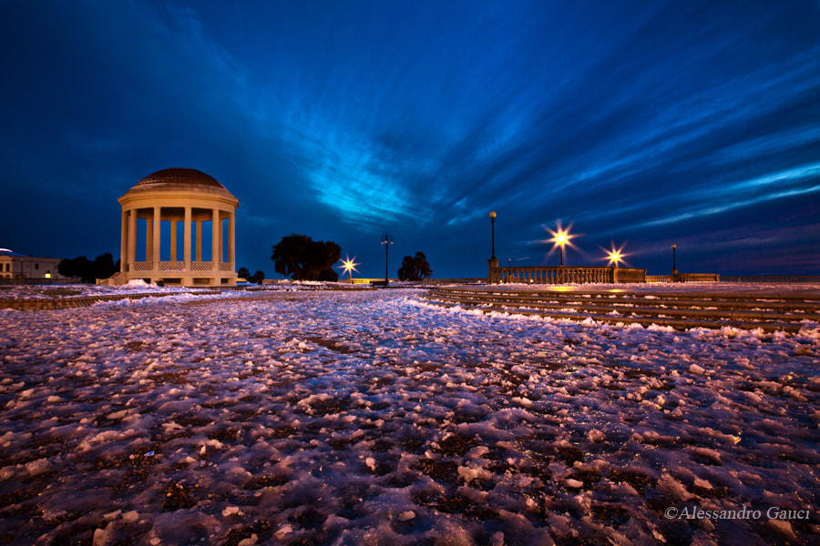 Photograph Ice on Terrazza Mascagni by Alessandro  Gauci on 500px