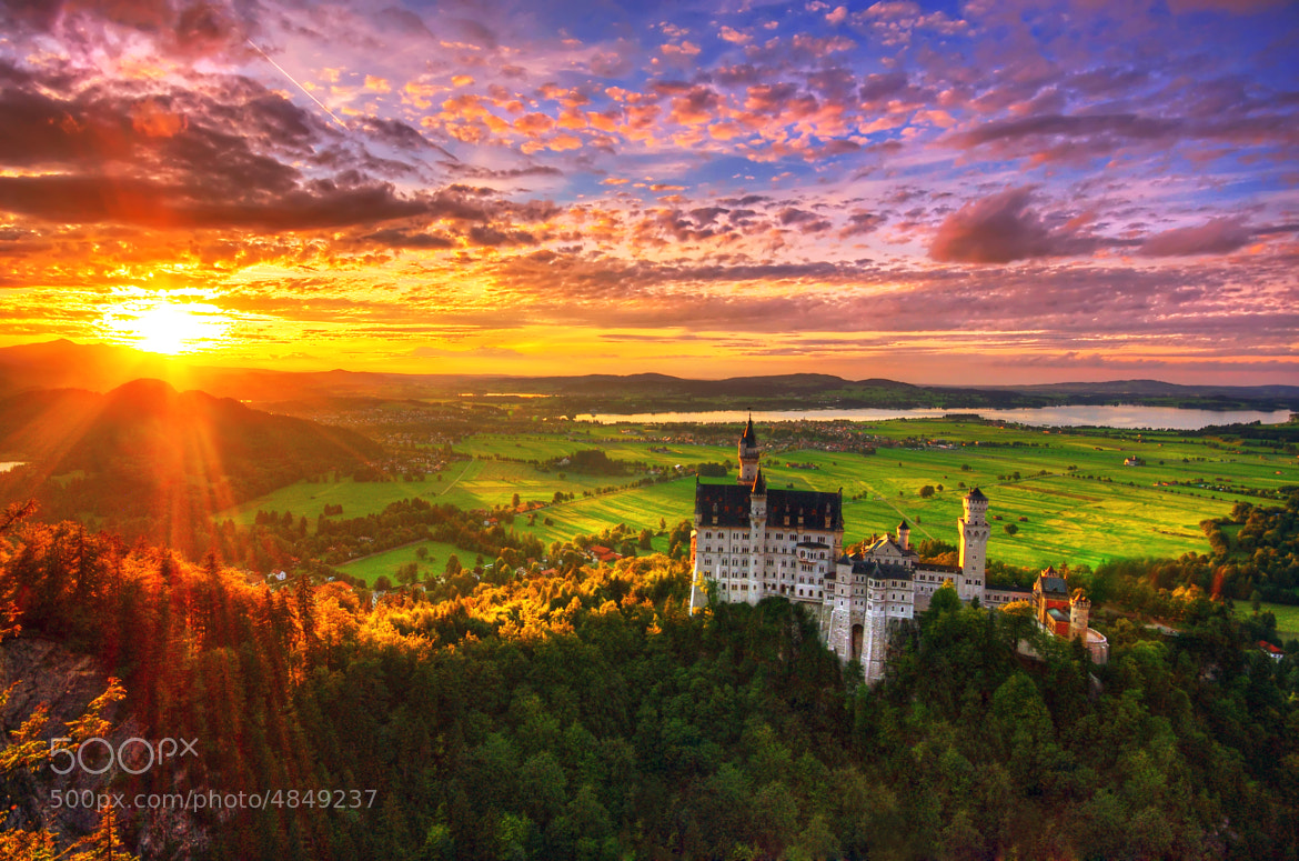 Photograph Castle Neuschwanstein by Edgar Moskopp on 500px