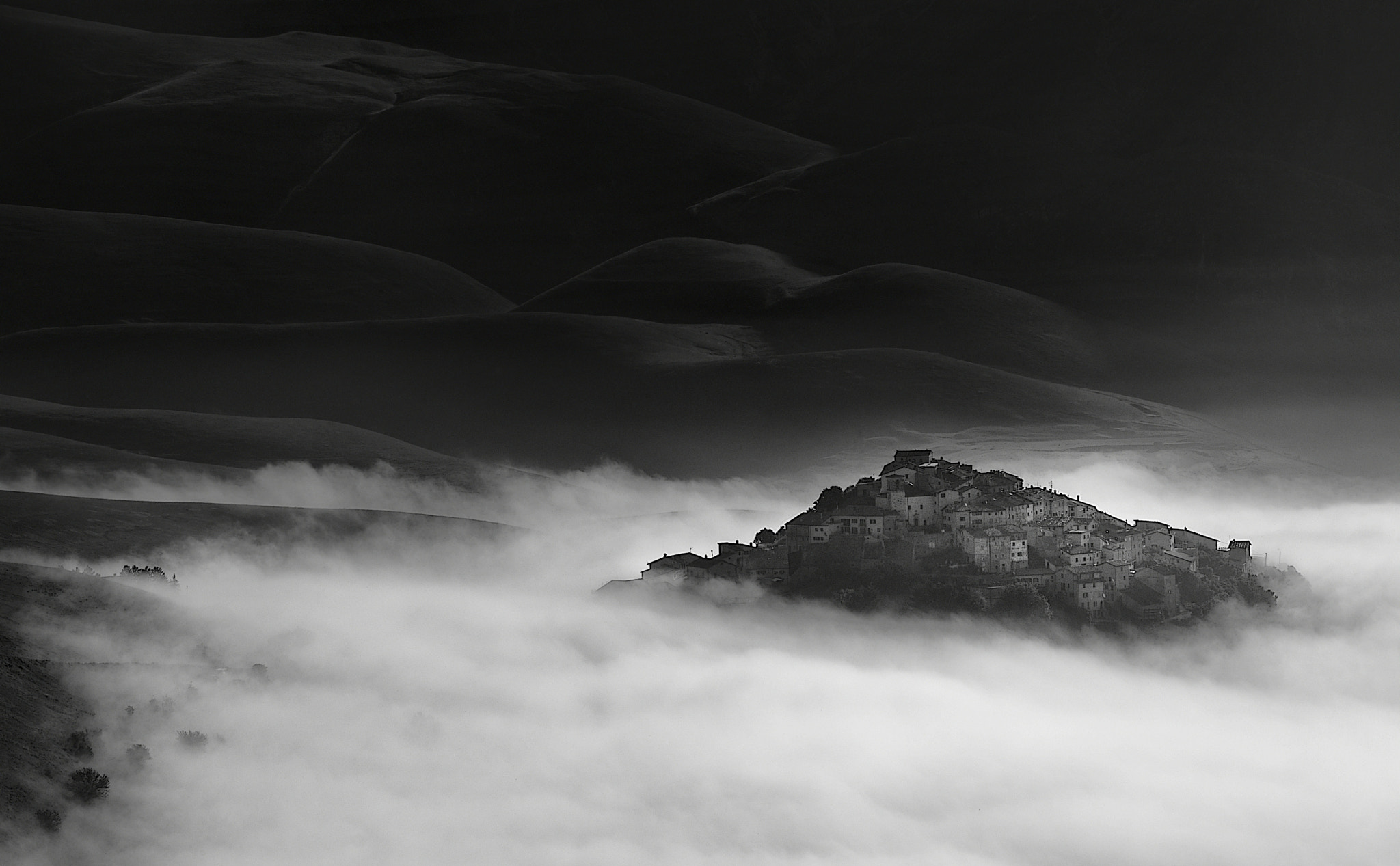 Photograph fog in the valley by mauro maione on 500px