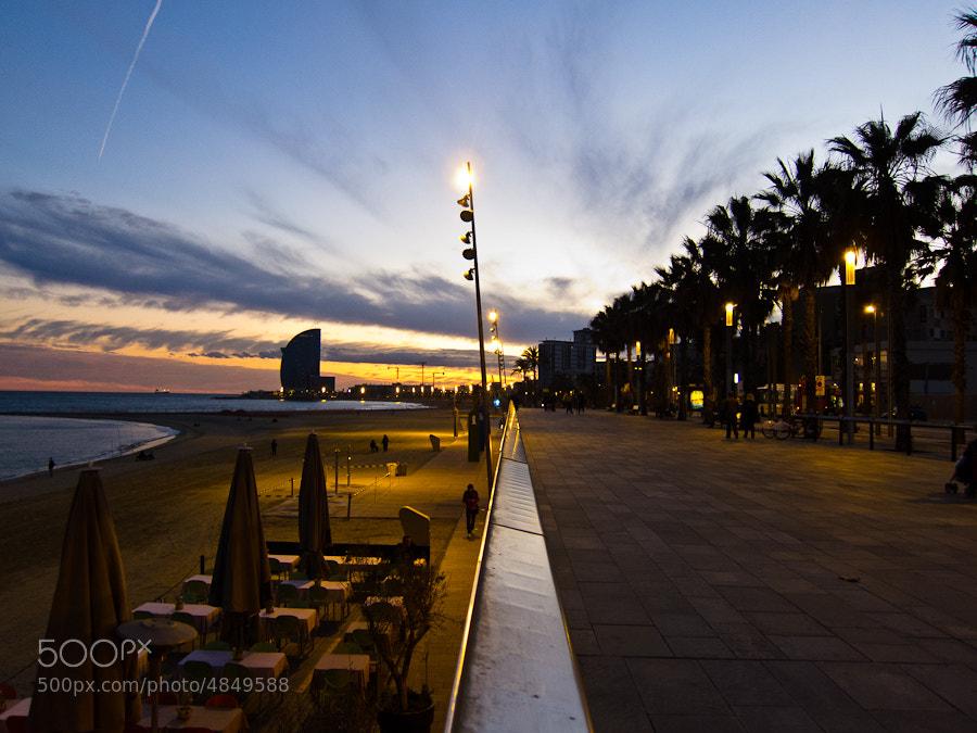 Photograph Barceloneta by Victor Gan on 500px