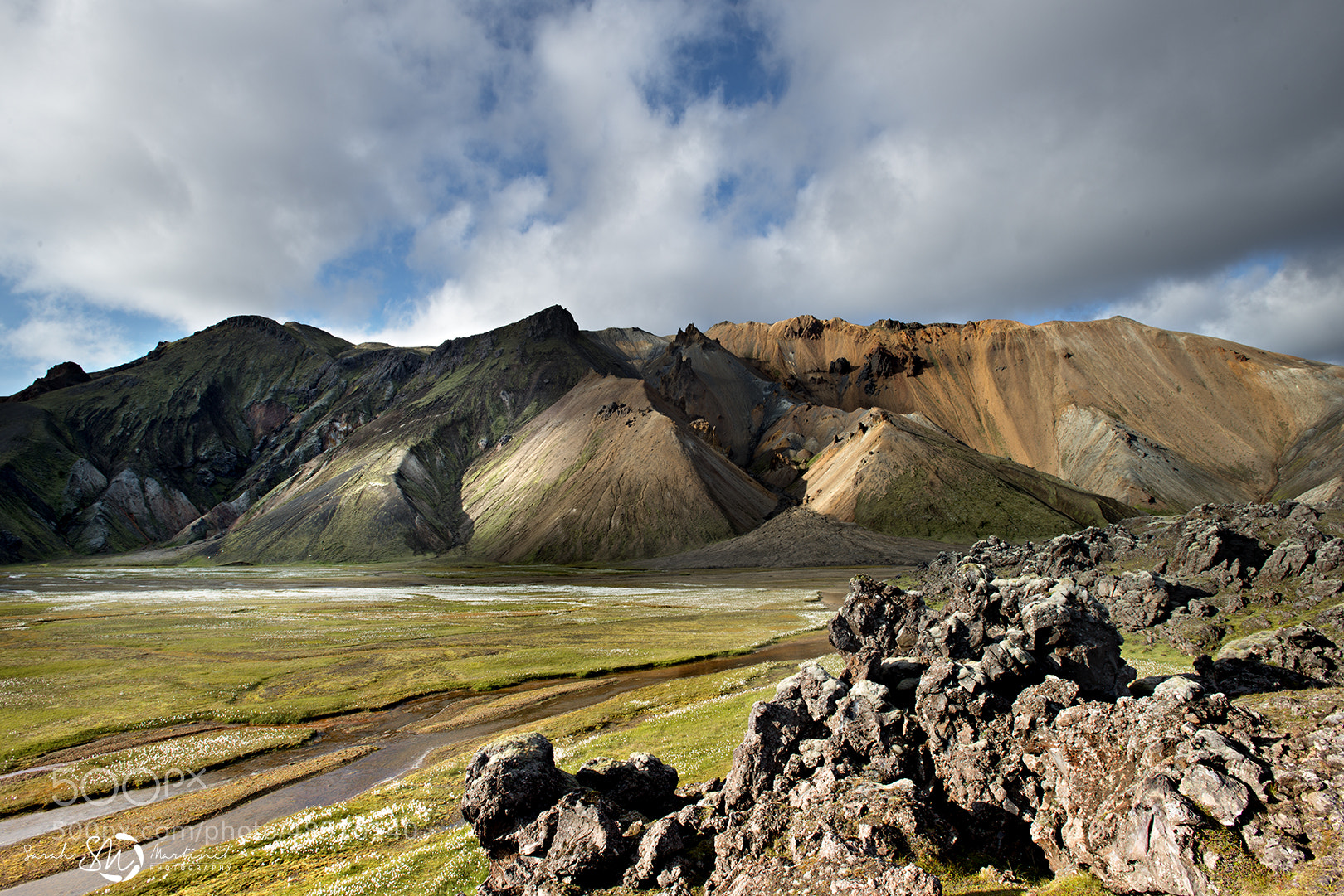 Photograph Volcanic landscape by Sarah Martinet on 500px