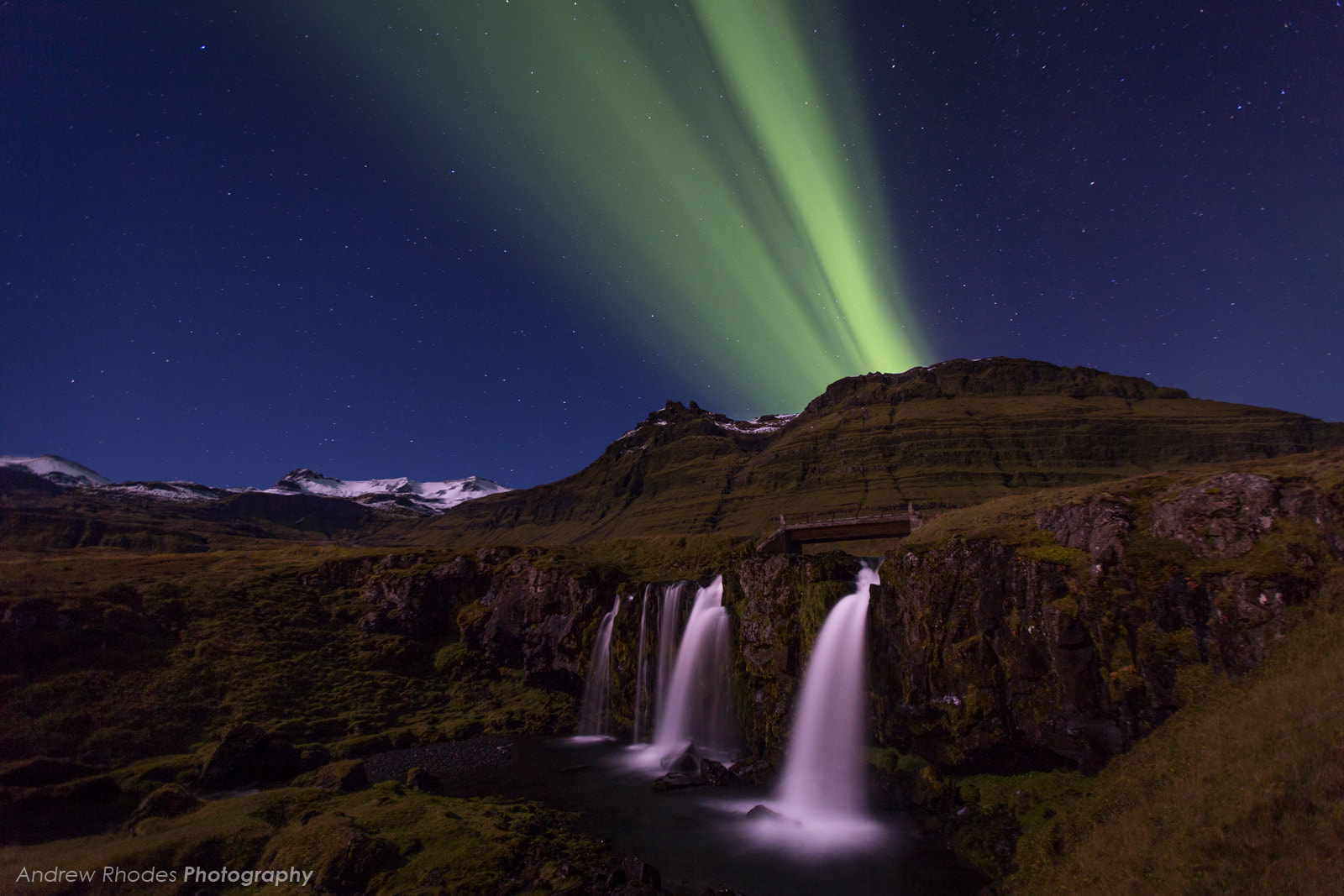 Photograph Aurora Over Kirkjufellsfoss by Andrew Rhodes on 500px
