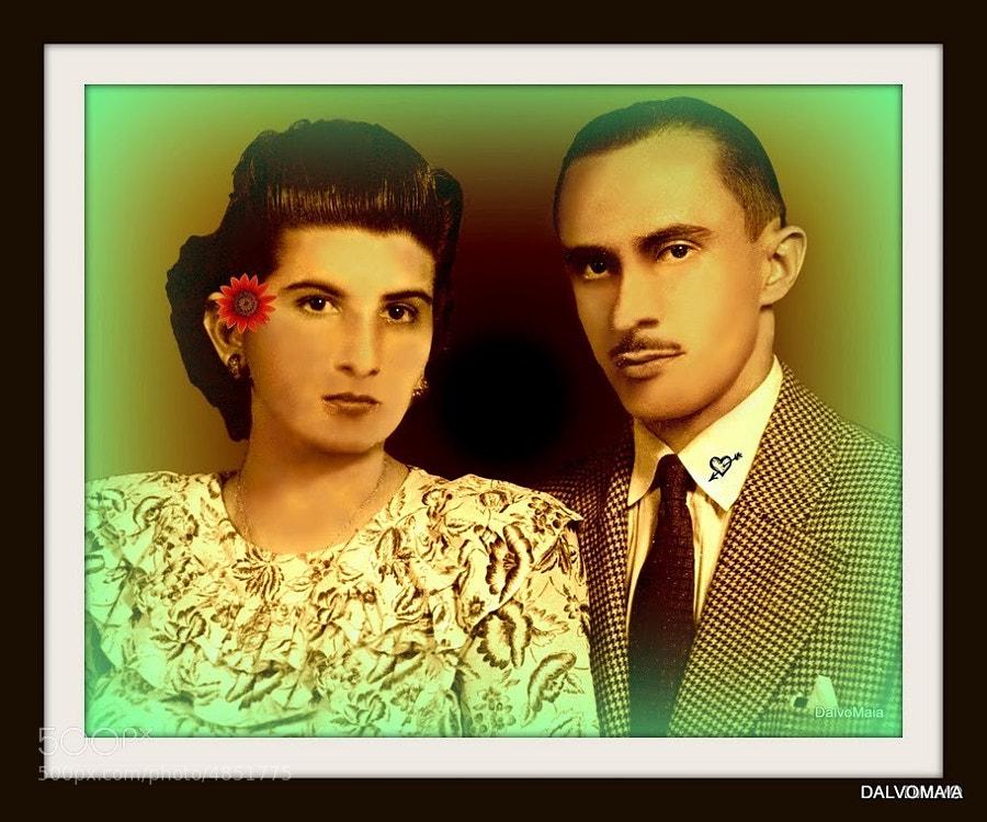 FOTO DE 1923, WEDDING MY DAD AND MY MOMY, (1923)