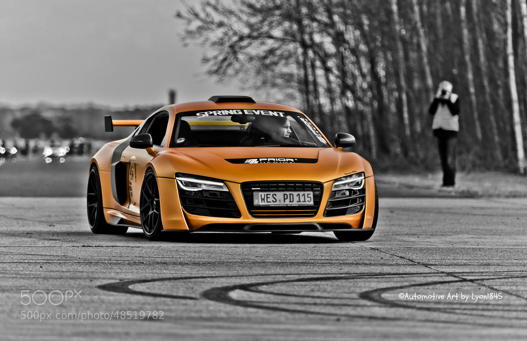 Photograph Audi R8 GT850 by lyon1845 on 500px