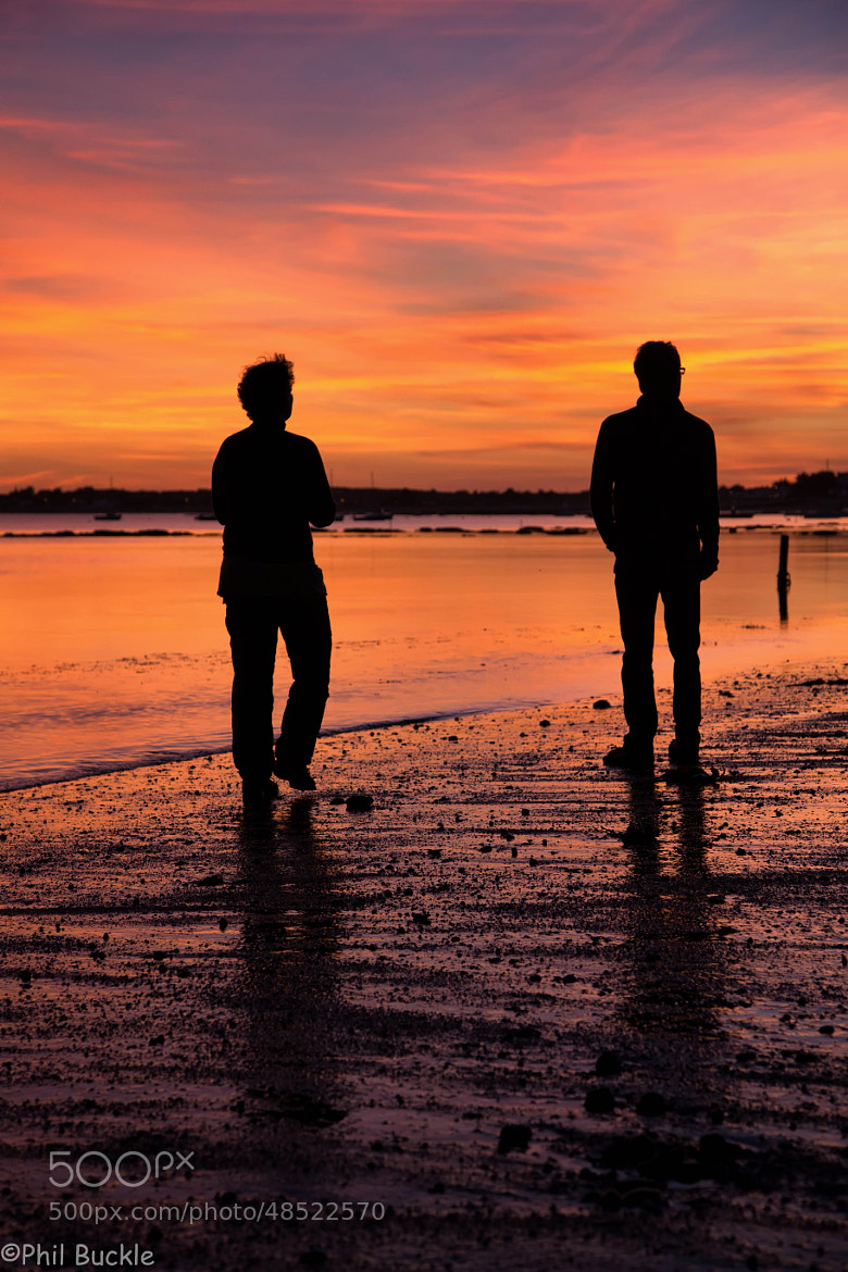Photograph Sunset stroll by Phil Buckle on 500px