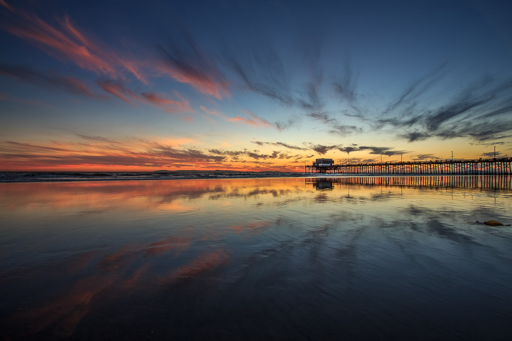 Photograph Sunset at Newport Pier. by Michael Smith on 500px