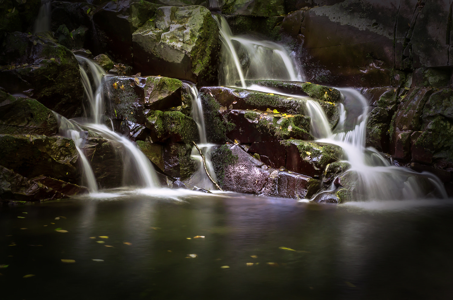 Photograph small waterfall by Andy 58 on 500px