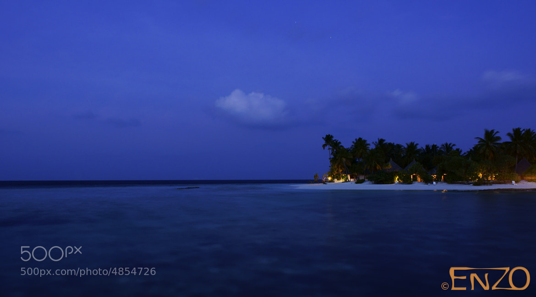 Photograph Maldivian night by Heinz Tuma on 500px