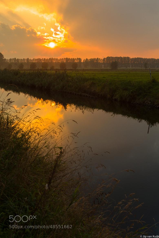 Photograph Sunset over Sinaai, by Jip van Kuijk on 500px