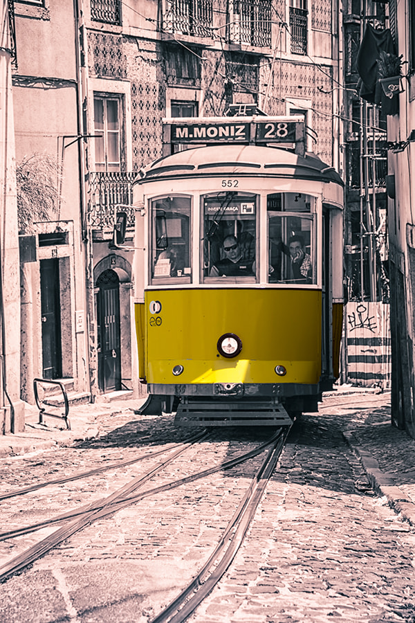 Photograph Lisboa Tram by Nigel Smith on 500px