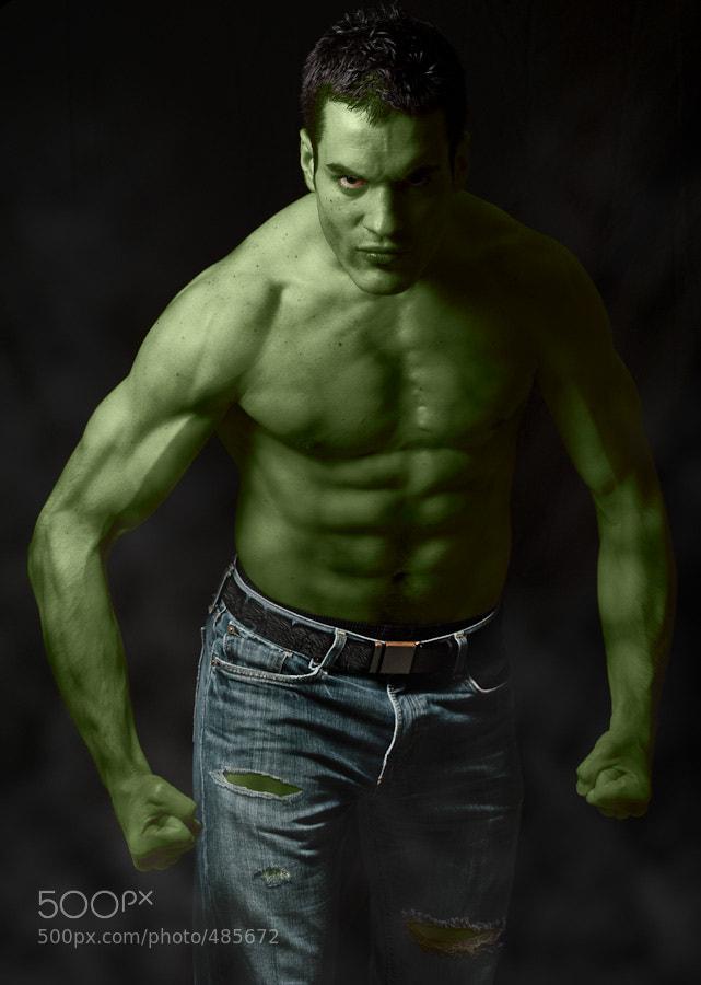 Photograph Hulk by Frédéric Ruaudel on 500px