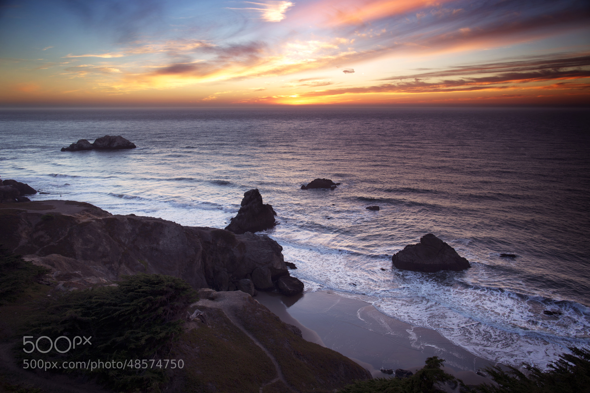 Photograph At Land's End by Ian Civgin on 500px