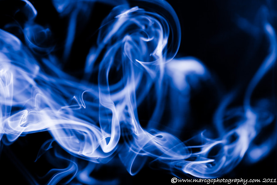 "Join me on my <a href=""https://www.facebook.com/marcgcphotography"" rel=""nofollow"">Facebook Page</a>.  I always wanted to photograph some smoke trails so today I just start experimenting a bit on this subject. I also wanted to leave my mark on the shoots so I start shooting really close with my favorite kind of lens, a macro lens."