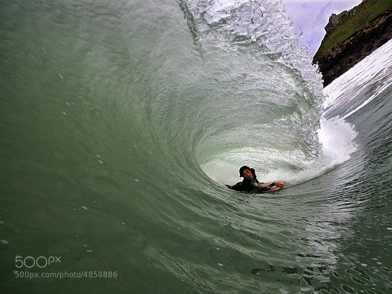Photograph In the barrel by Mike Newman  on 500px