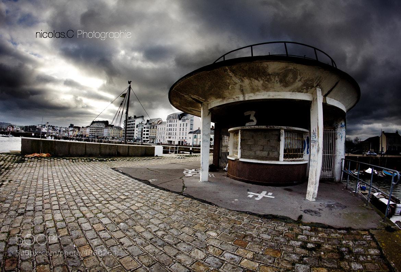 Photograph Ciel apocalyptique sur Cherbourg by Nicolas Cesne on 500px