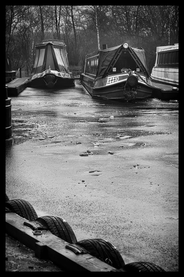 Photograph Iced Barges 2 by Steve FGA on 500px
