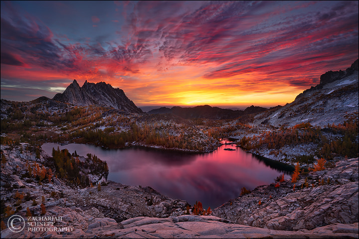 Photograph Enchanted Sky Fire by Zack Schnepf on 500px