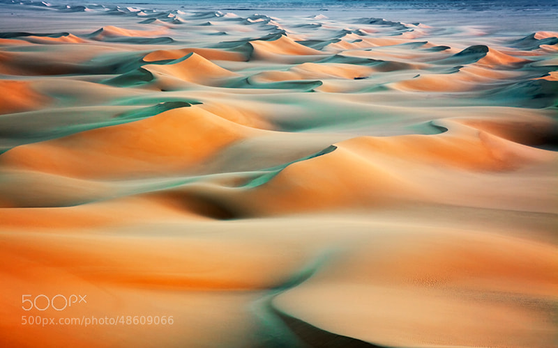 Photograph Dunes at sunrise by Lucyna Koch on 500px