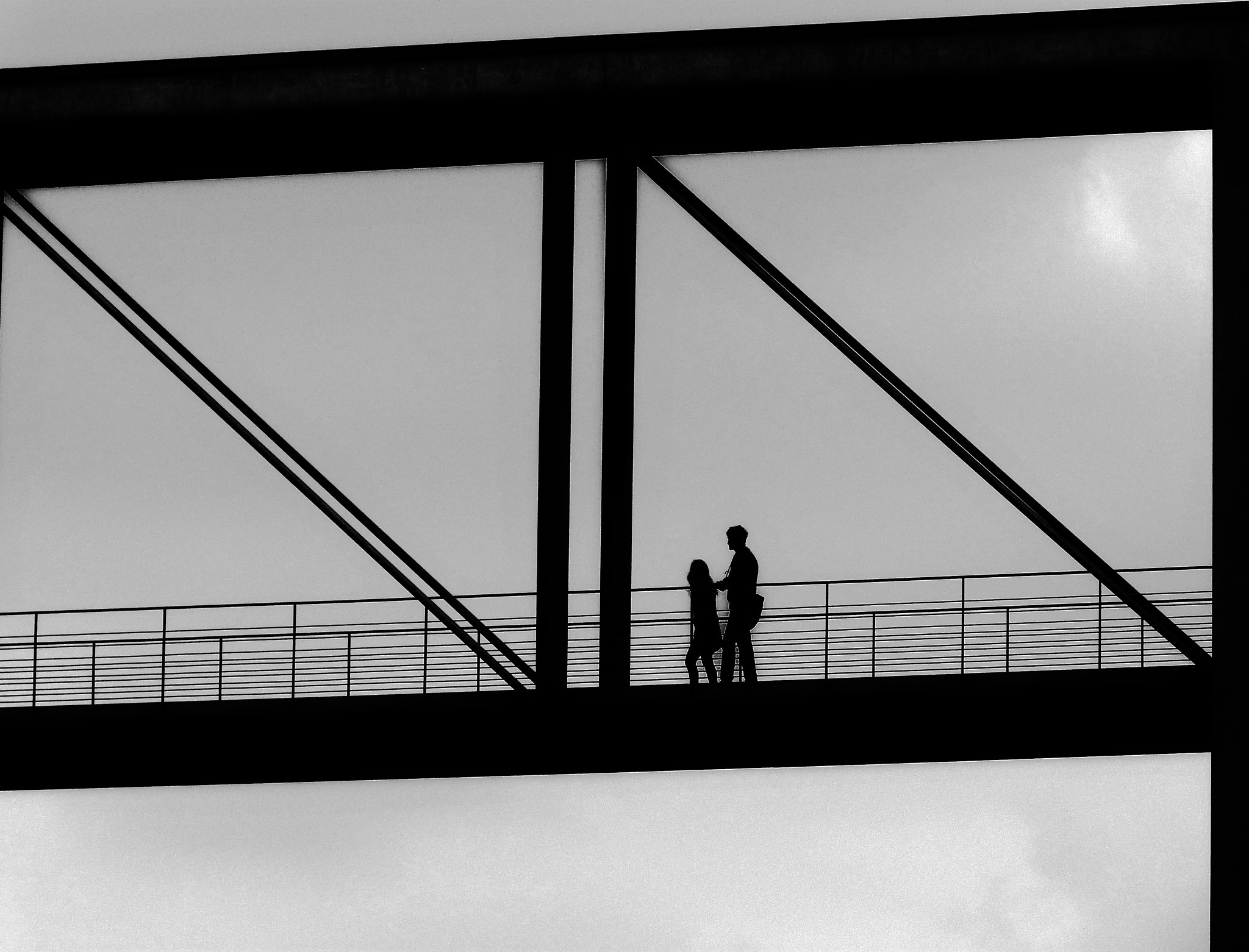 Photograph Berlin - on a bridge by Florence Guichard on 500px