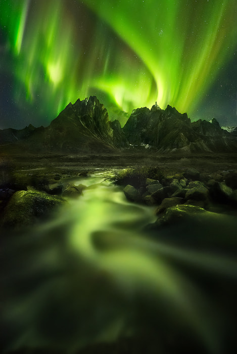 Photograph Peaks of the Lights by Marc  Adamus on 500px