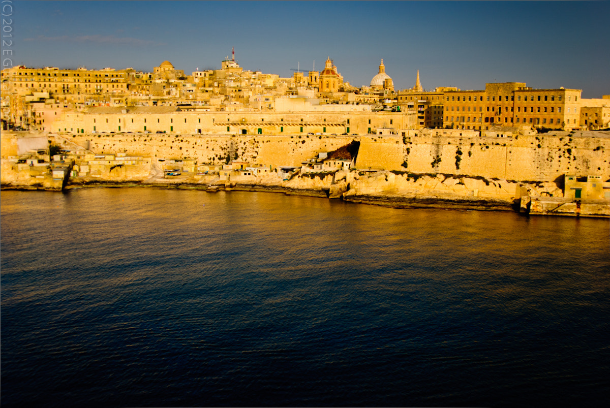 Photograph Malta Harbor by morning Sunlight by Eje Gustafsson on 500px