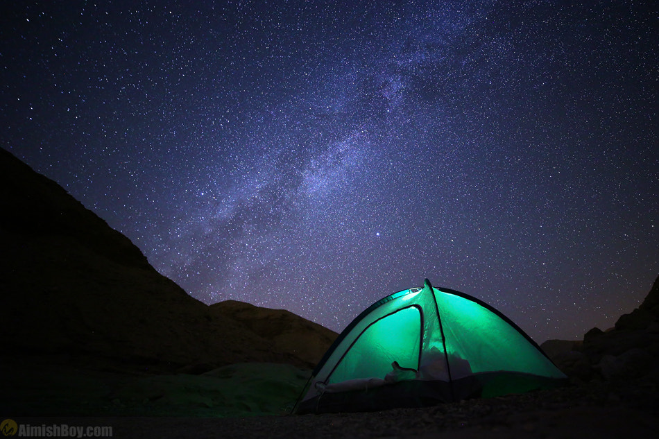 Photograph Under The Milky Way by AimishBoy (Nadav Bagim) on 500px