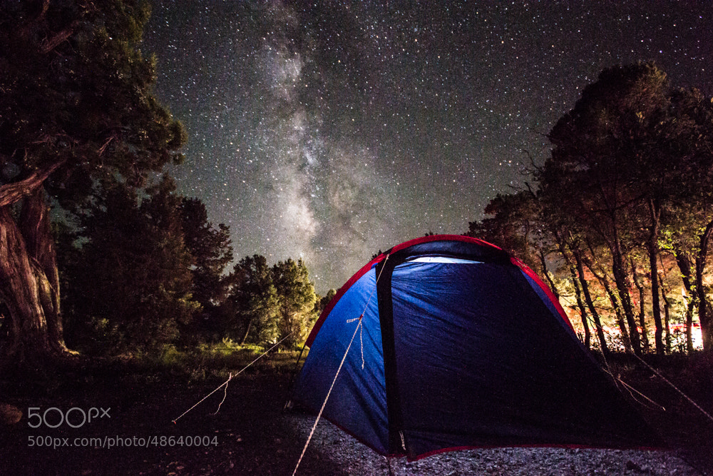 Photograph Milk Way by Aleix Carapeix on 500px