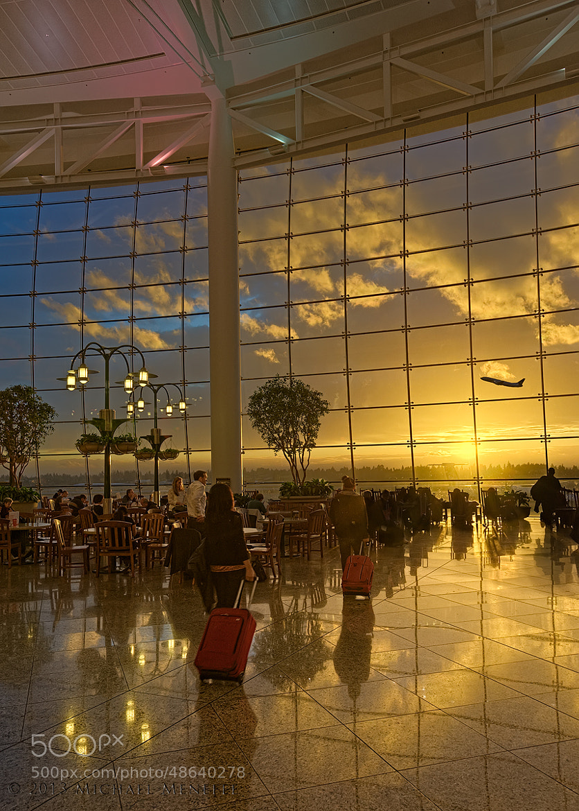 Photograph Sea-Tac Airport's Exquisite Central Terminal by Michael Menefee on 500px