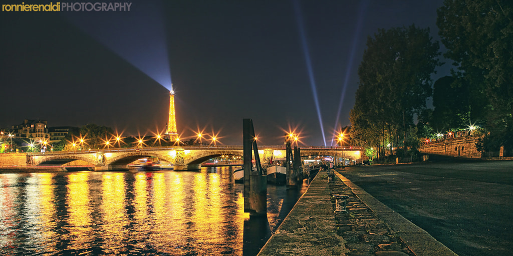 Photograph Eiffel from a distance by Ronnie Renaldi on 500px