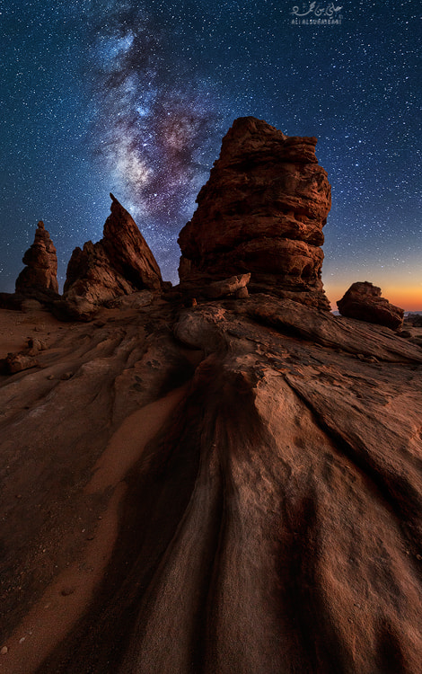 Photograph To Milky Way by Ali ALSUHAIBANI on 500px