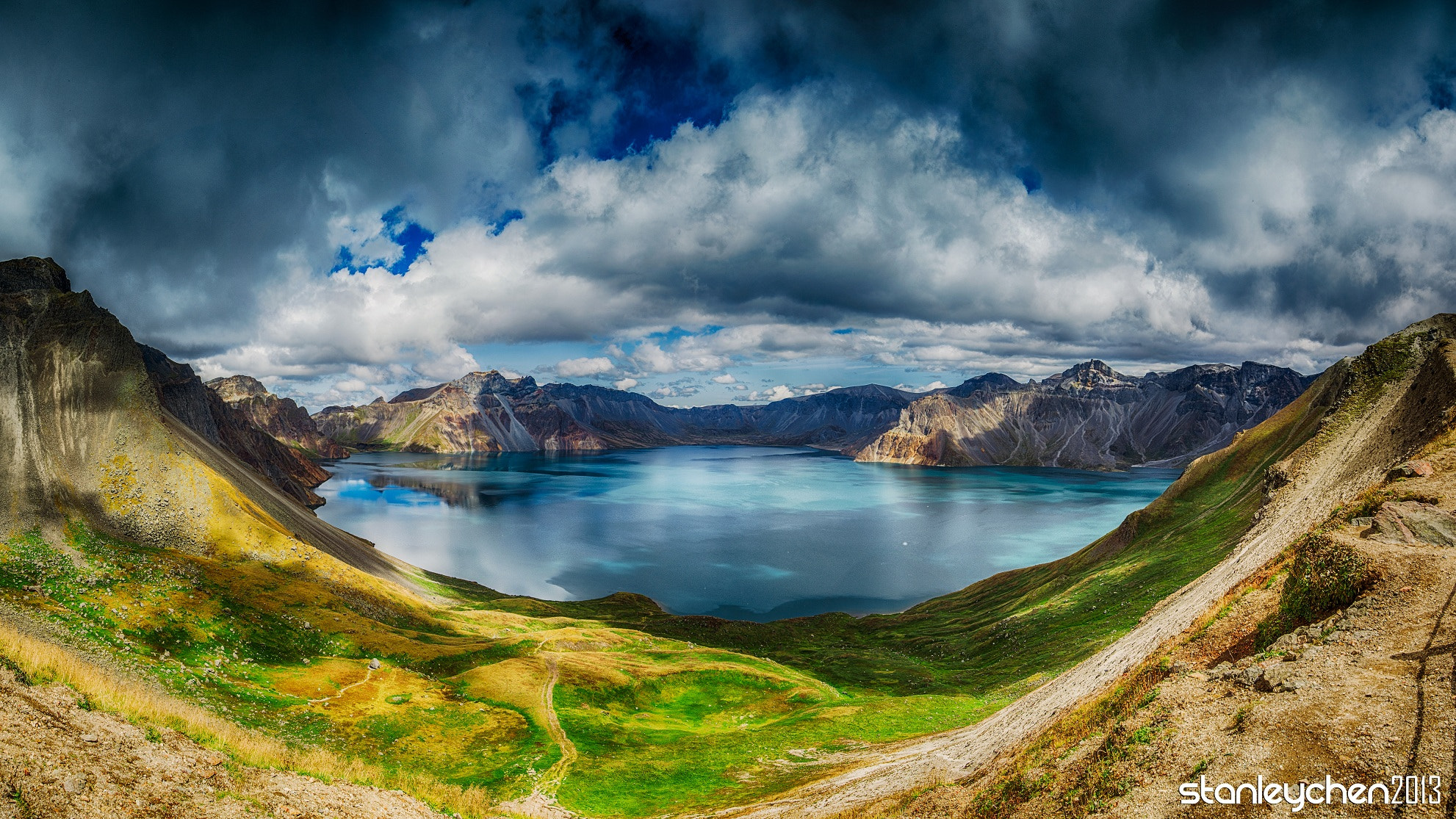 Photograph Sky Lake, Mt.Changbai by Stanley Chen Xi on 500px