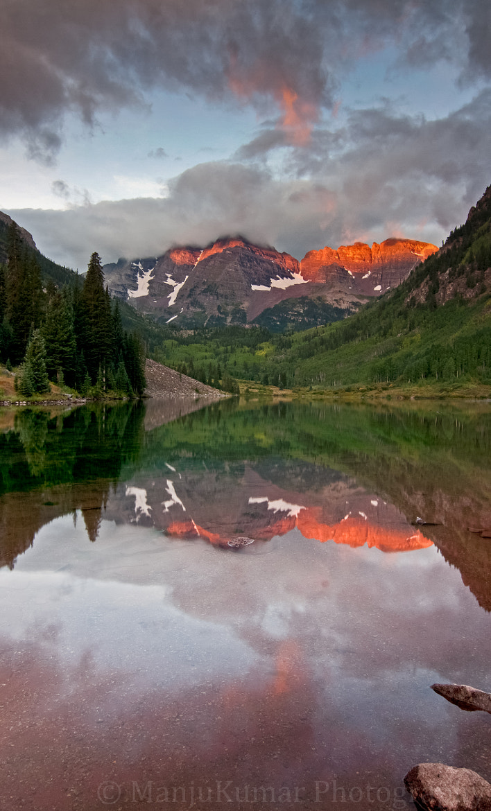 Photograph Sunrise at Maroon Bells by Manju Kumar on 500px