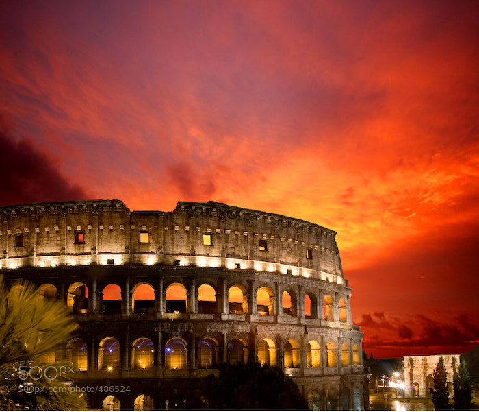 Photograph Coliseum by Ricardo Bevilaqua on 500px