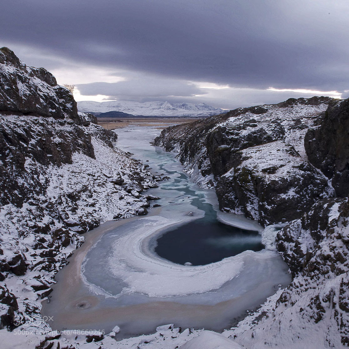 Photograph River eye by Mindaugas Andrijauskas on 500px