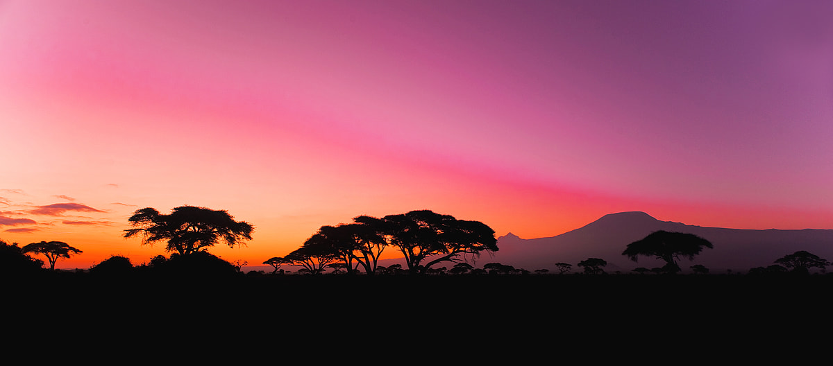 Photograph Sunset at Amboseli by Aubrey Stoll on 500px