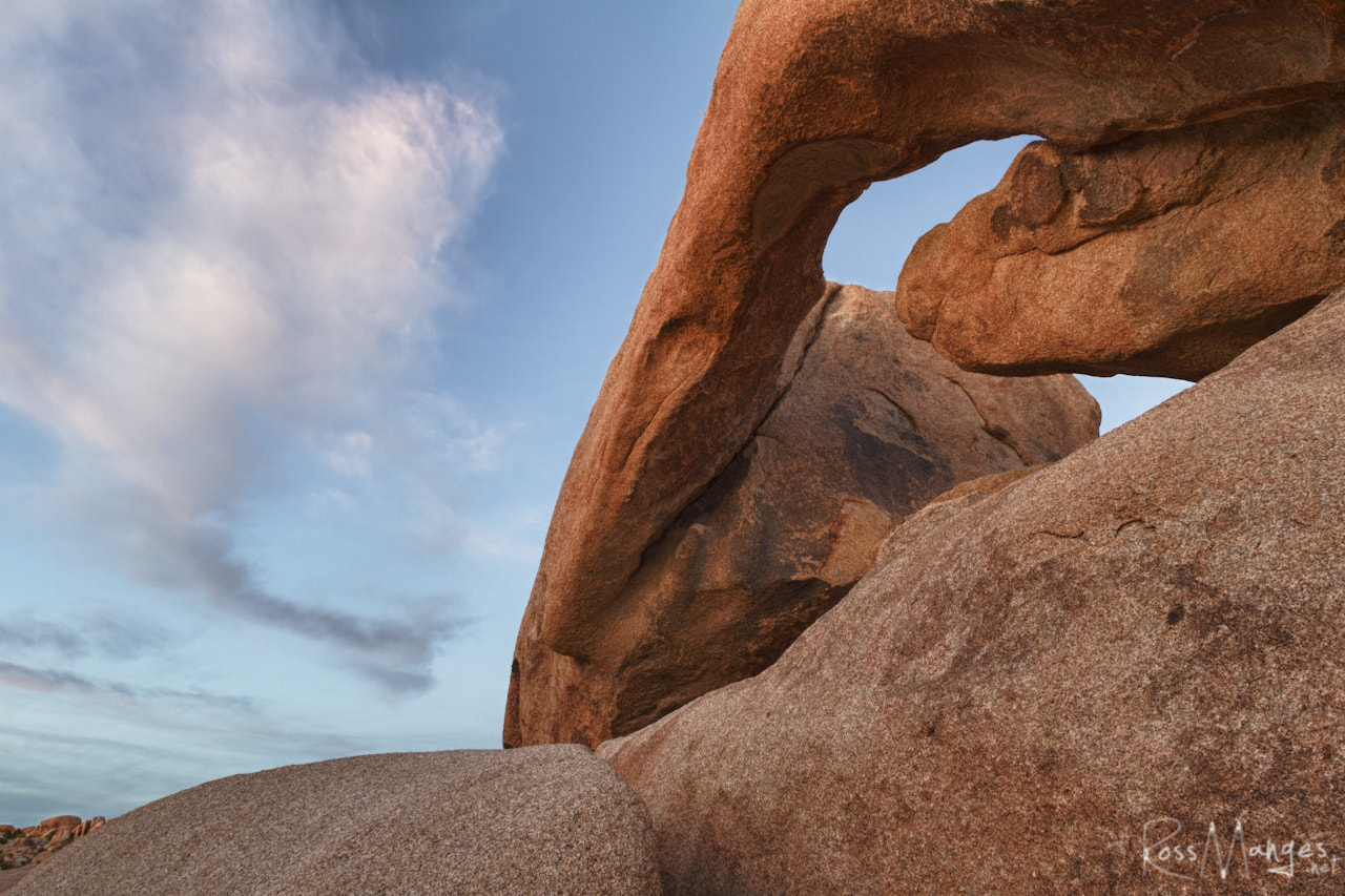 Photograph Arch Rock HDR at Joshua Tree by Ross Manges on 500px