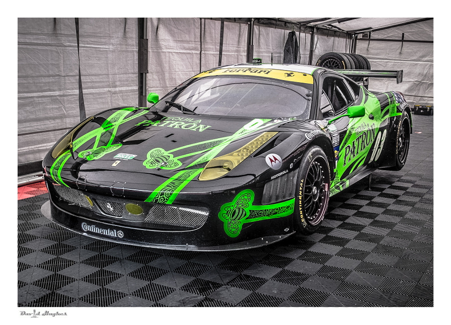 Tequila Patron Grand-Am Ferrari 458