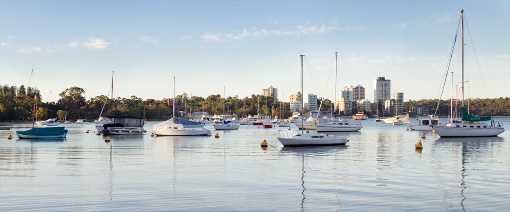 Photograph Matilda Bay Yachts by Ryan Epstein on 500px