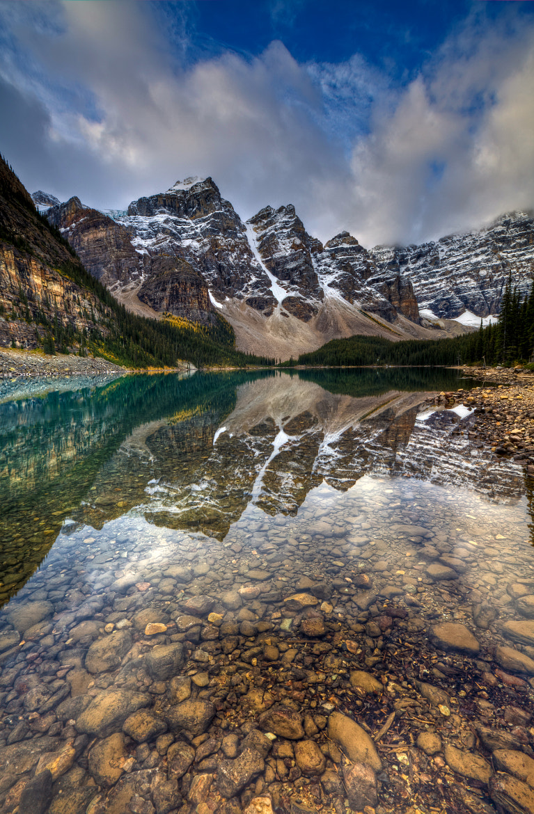 Photograph Ten Peaks Reflected by Chris Muir on 500px