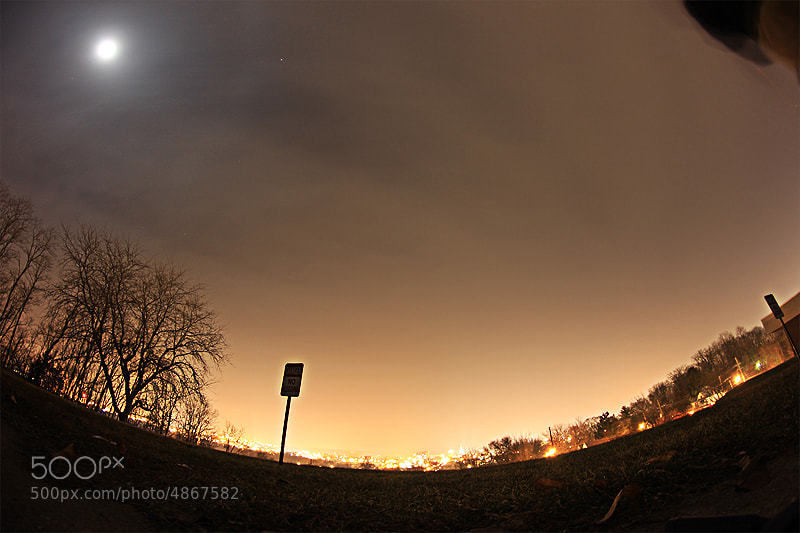 Photograph Light Pollution of Lafayette by Graham Debnam on 500px