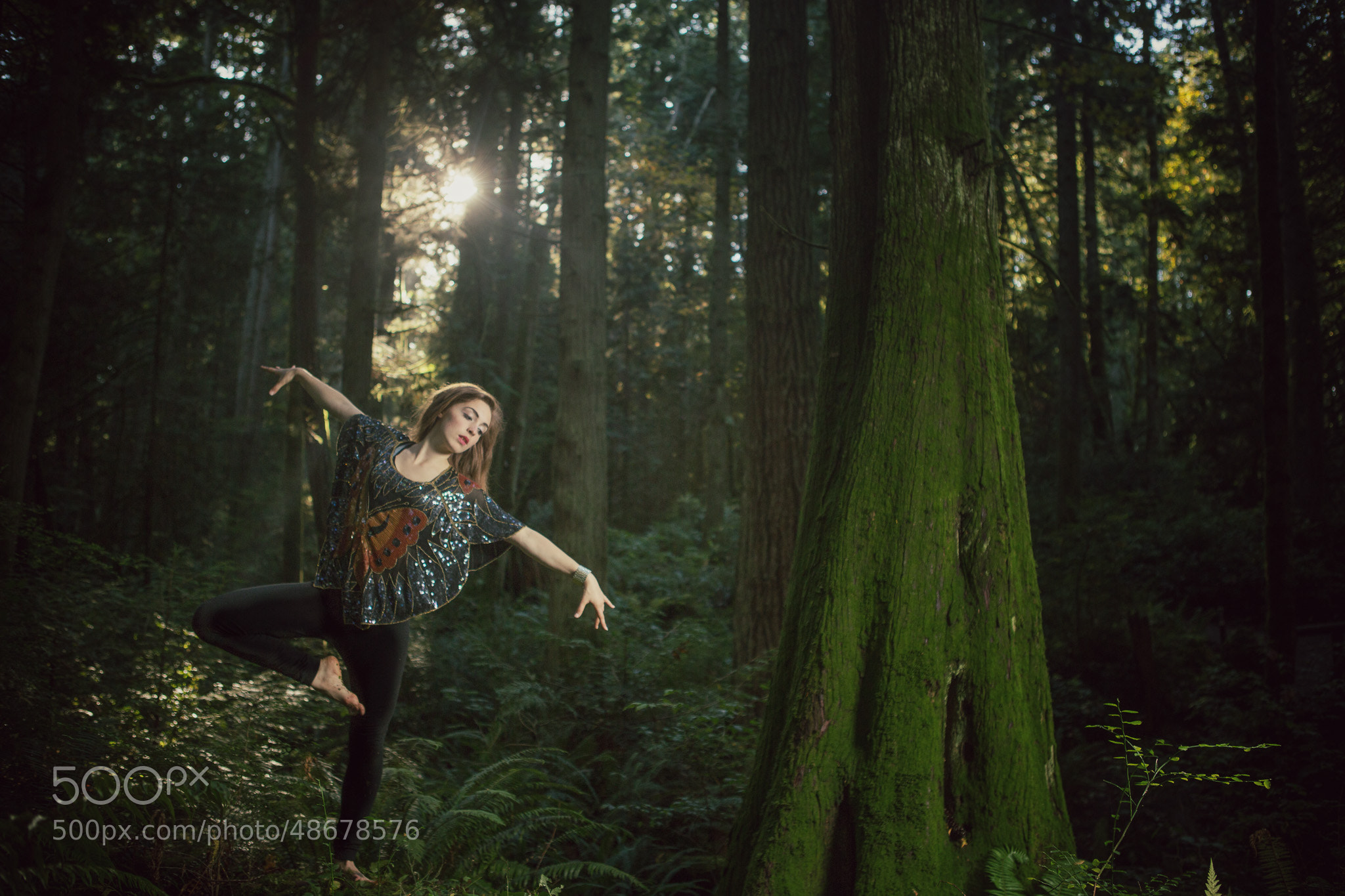 Photograph Ava in the Forest by Garrett Gibbons on 500px