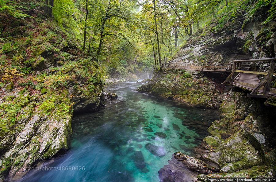 Vintgar Gorge, Slovenia by Evgeniy Averboukh on 500px.com