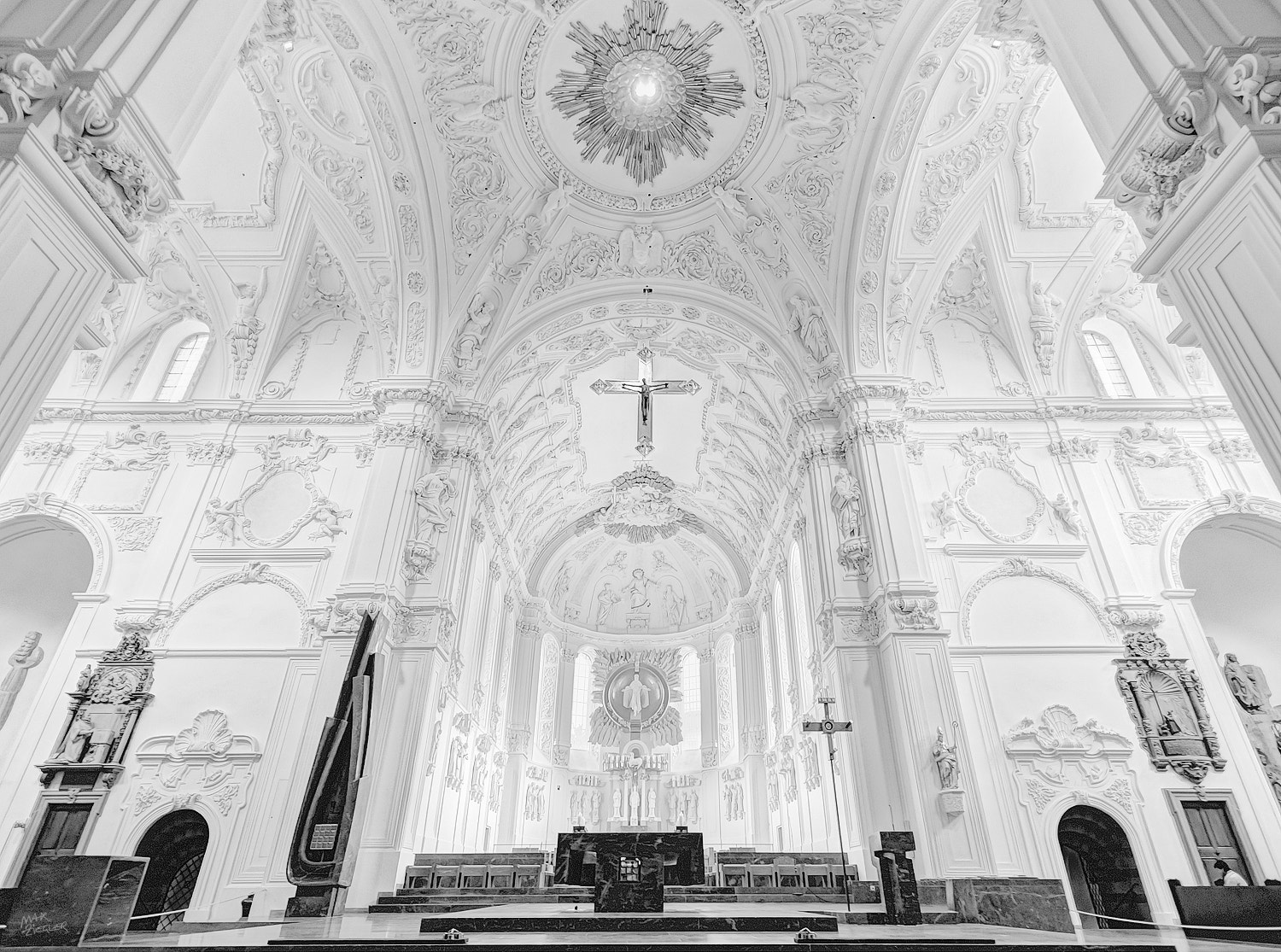 Photograph holy place 03 b&w by Max Ziegler on 500px